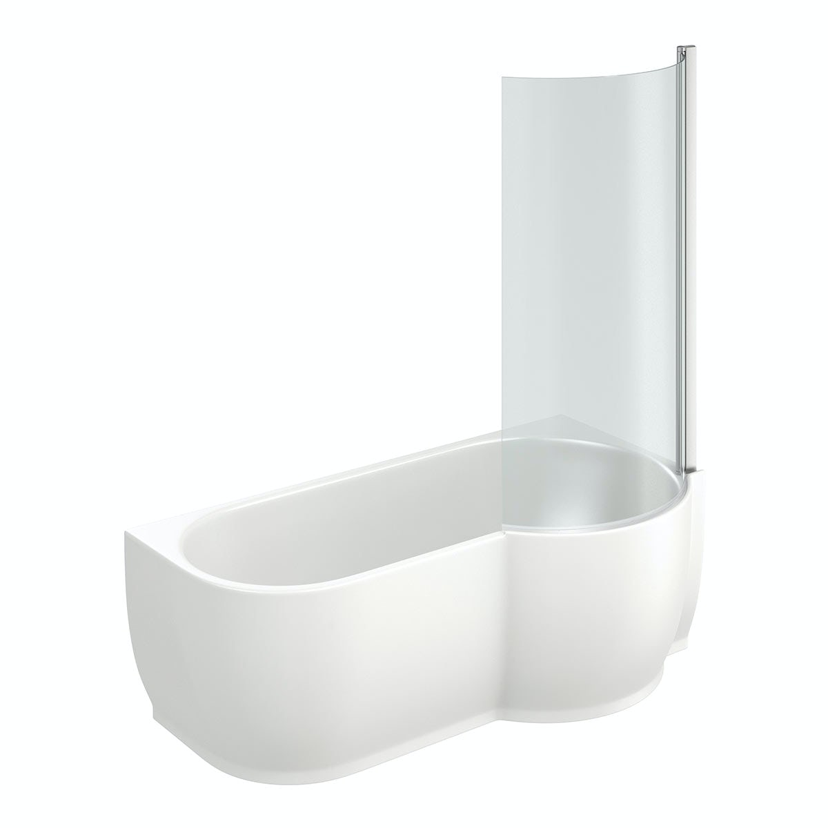 mode maine right handed p shaped shower bath and shower coventry bathrooms 187 p shaped shower bath with safety