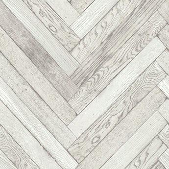 Fine Decor distinctive 4 parquet wood white