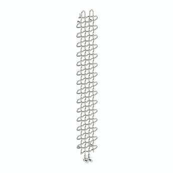 Terma PLC chrome effect vertical radiator 1580 x 263