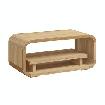 Reeves Oscar oak storage table