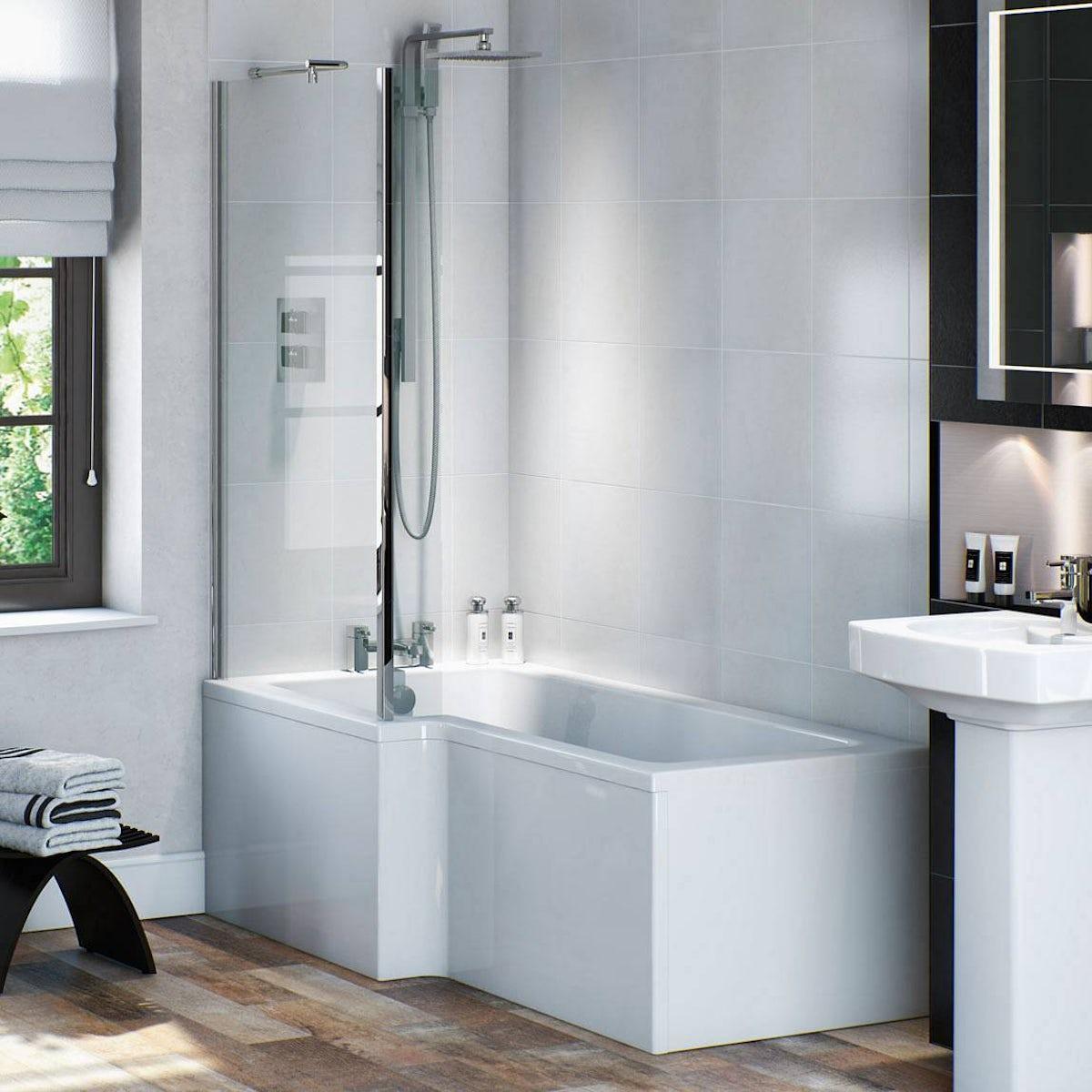 Bathroom Suites Ebay L Shaped Bathroom Suite Shaped Bathroom Suite 1500 Bath 1500mm