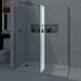 Mode 8mm wet room glass return panel 300mm