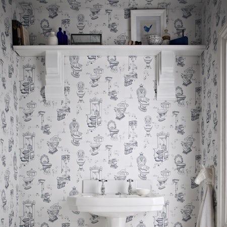 Graham & Brown Loo loo wallpaper