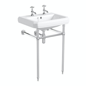 The Bath Co. Traditional washstand with Cavendish basin