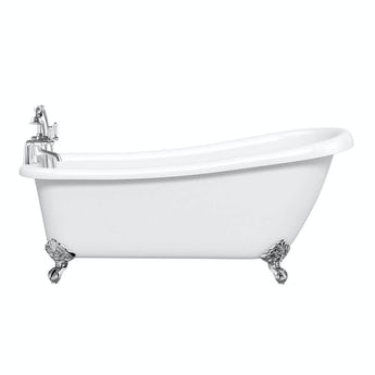 Winchester roll top bath with ball feet