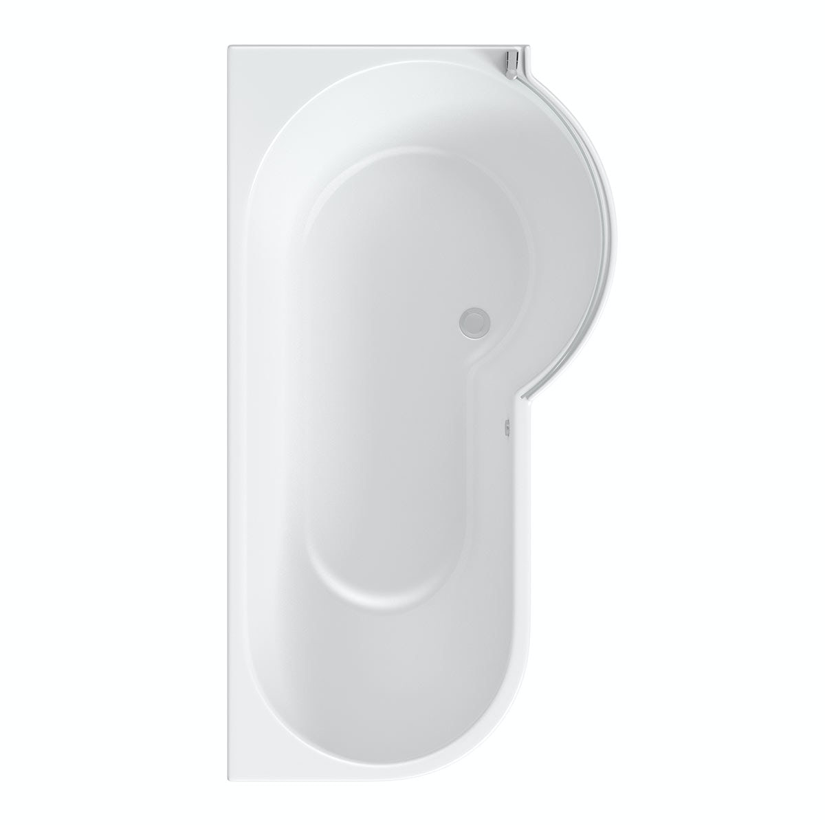 mode maine right handed p shaped shower bath and shower compare shower baths p and l shaped shower baths
