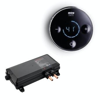 Mira Platinum digital shower valve and controller pumped