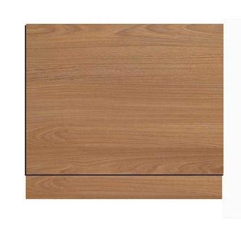 Oak effect straight bath wooden end panel 800mm