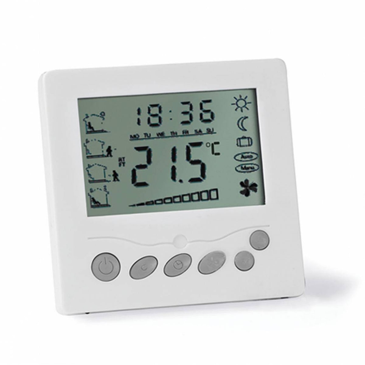 Lcd Thermostat For Underfloor Heating Victoriaplum Com