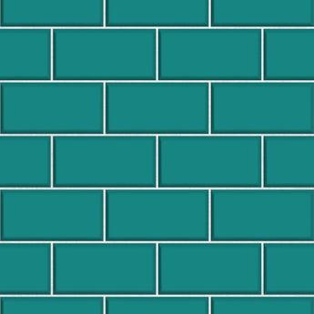 Fine Decor ceramica subway tile teal
