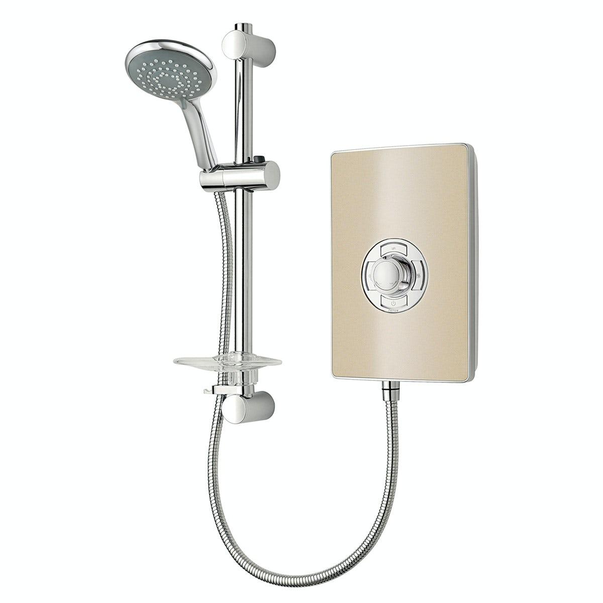 Triton aspirante 9 5kw electric shower riviera sand for Housse aspirante