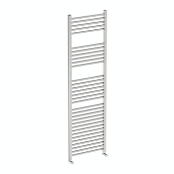 Round heated towel rail 1600 x 500 offer pack