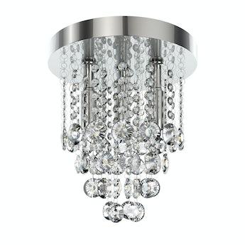 Lenah 260mm flush bathroom ceiling light