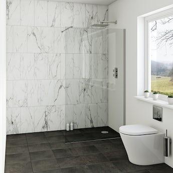 Luxury 8mm wet room glass panels offer pack