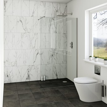Mode luxury 8mm wet room glass panels