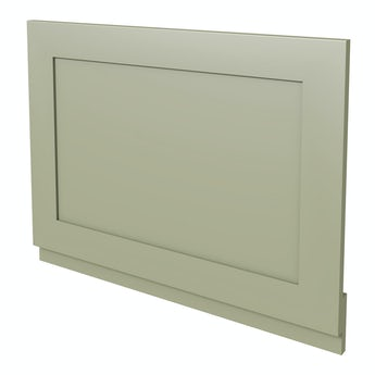 The Bath Co. Camberley sage wooden straight bath end panel 700mm