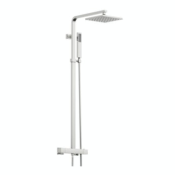 Tetra thermostatic bar valve shower system