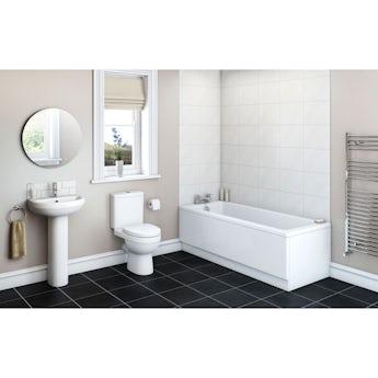Energy bathroom set with Kensington bath suite