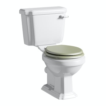 Cavendish close coupled toilet inc sage soft close seat