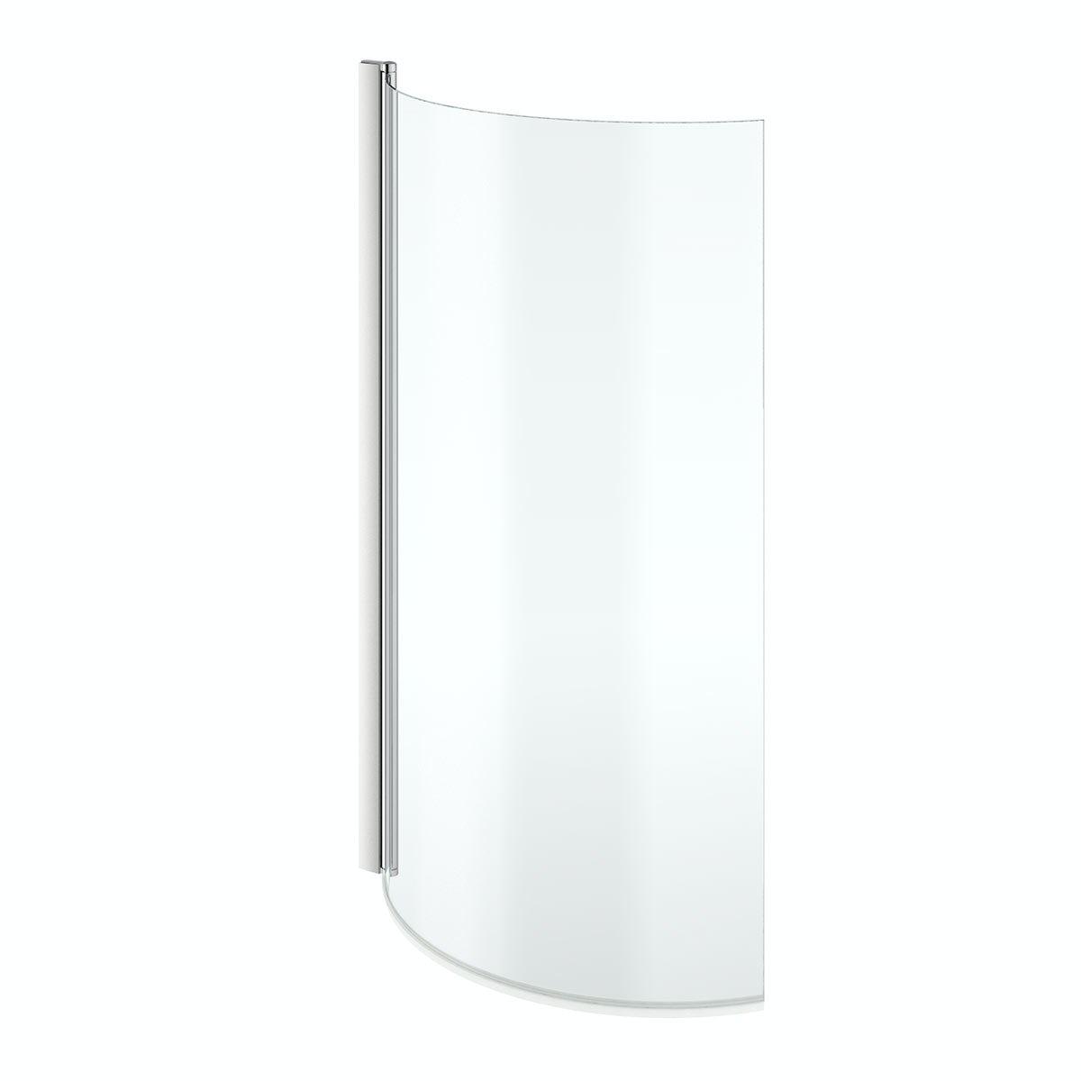Shower Screen For P Shaped Bath Mode Maine Left Handed P Shaped Shower Bath And Shower