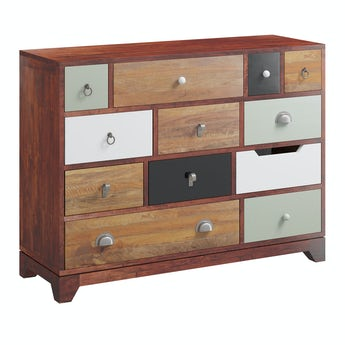 Reeves Weston multicoloured 12 drawer chest