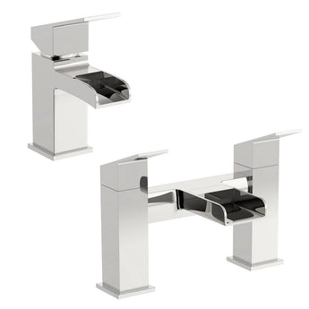 Escala basin and bath mixer tap pack