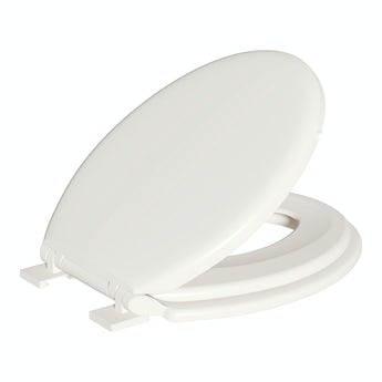 Family soft close toilet seat