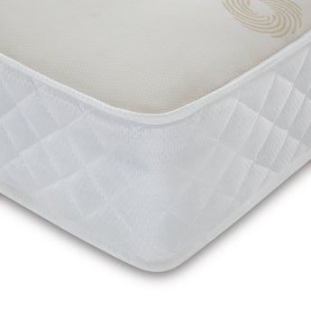 MFI Single open coil mattress with memory foam