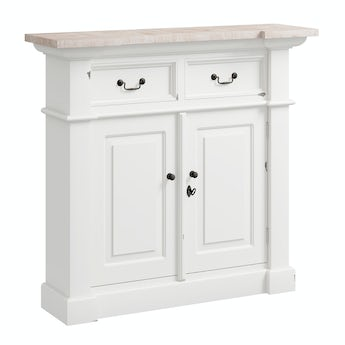 Reeves Austin white small sideboard