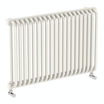 Terma Delfin soft white horizontal radiator 540 x 820