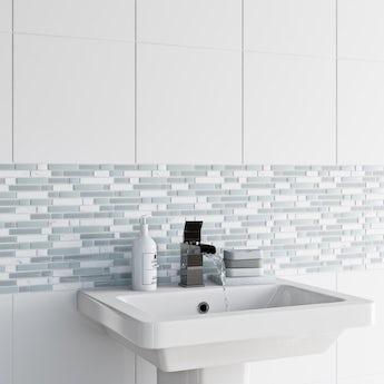 Mosaic ice tile 305mm x 305mm - 1 sheet