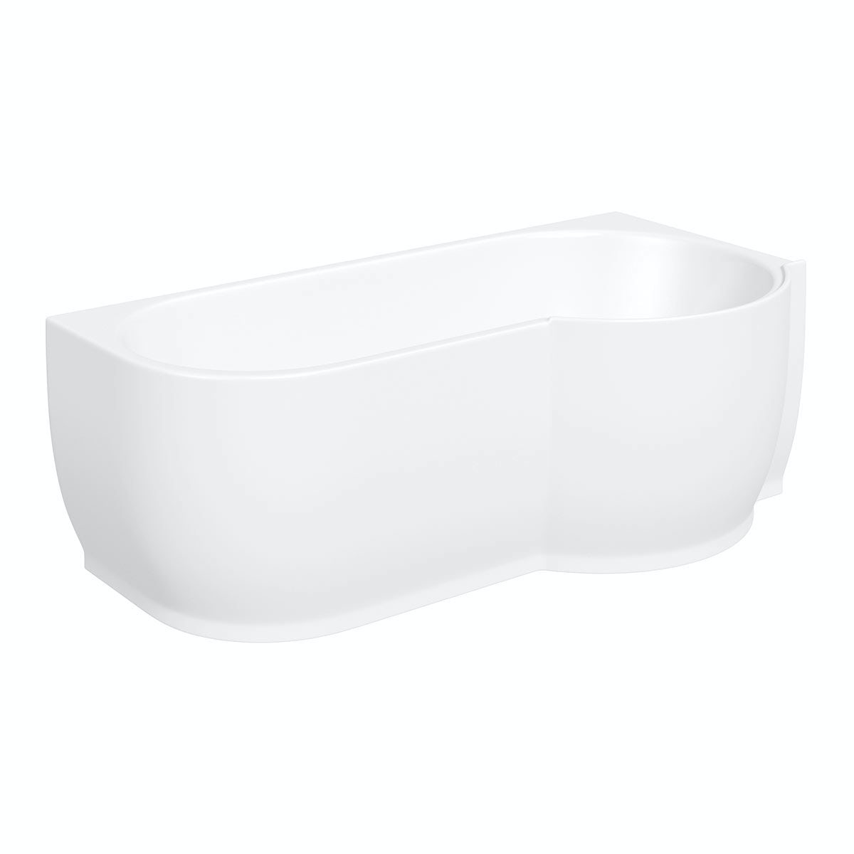 Mode Maine Right Handed P Shaped Shower Bath And Shower