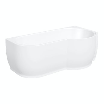 Mode Maine right handed P shaped shower bath