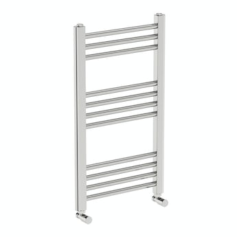 Round heated towel rail 700 x 400 offer pack