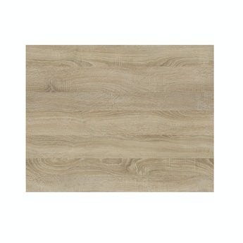 Arden oak boston shower bath end panel 680mm