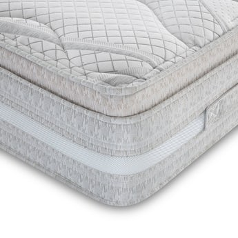 MFI Super king size open coil mattress with cushion top and airflow border