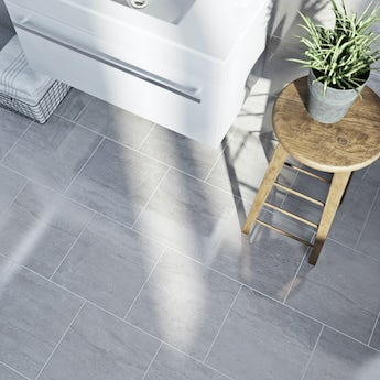 Lux Dove Gloss Tile 331mm x 331mm - Box of 9