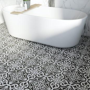 Victoriana feature matt tile 331mm x 331mm