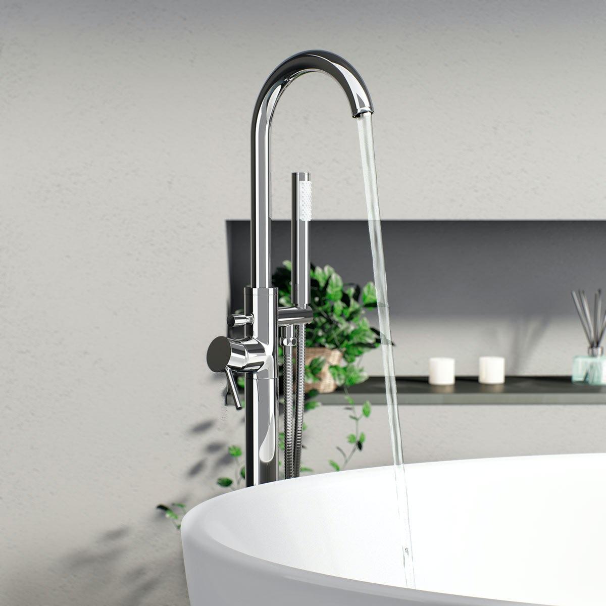 Matrix Freestanding Bath Filler Tap Victoriaplum Com