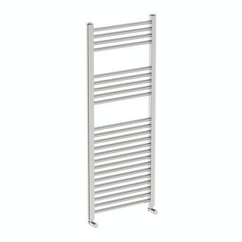 Round heated towel rail 1200 x 490 offer pack