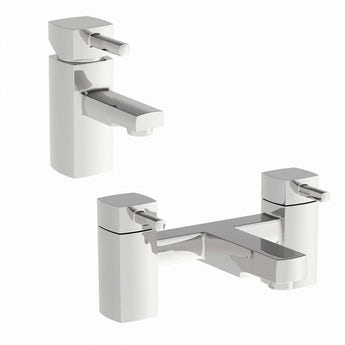 Osca basin and bath mixer tap pack