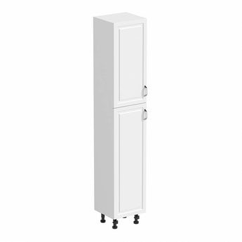 Florence white tall storage cabinet 350mm