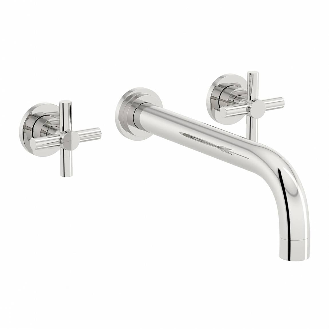 alexa wall mounted basin and bath mixer tap pack. Black Bedroom Furniture Sets. Home Design Ideas