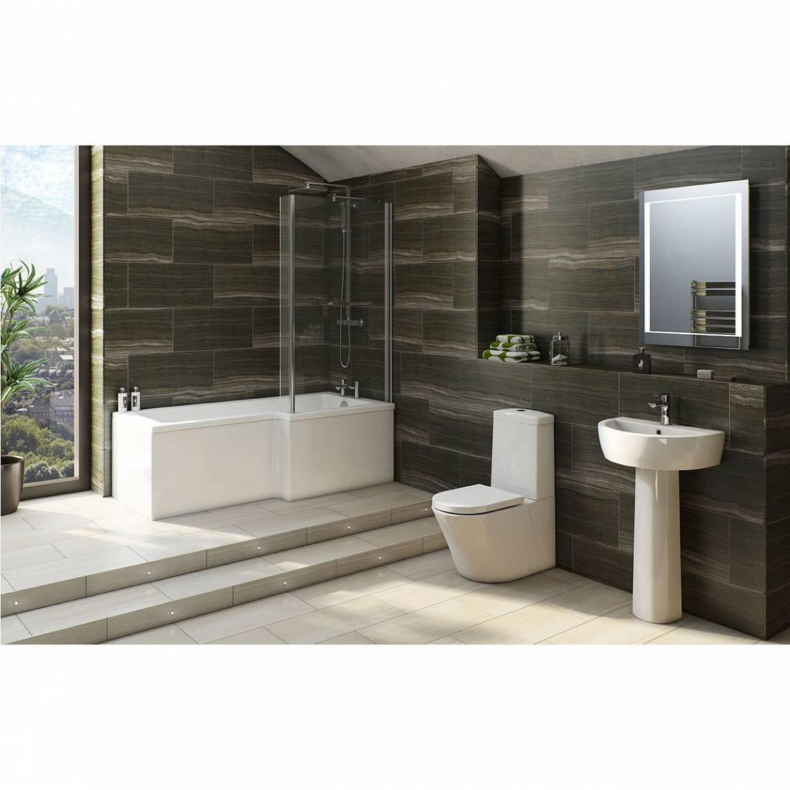 Plumbs bathroom suites - Arte Bathroom Suite With Boston Shower Bath Rh 1700x850 Victoriaplum Arte Bathroom Suite With Boston Shower Bath Rh 1700x850 Victoriaplum Download