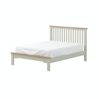 MFI Rome oak and mellow sage double bed