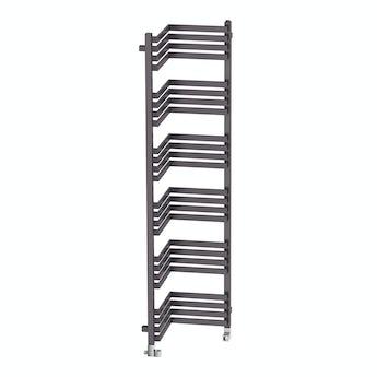 Terma Incorner modern grey heated towel rail 1545 x 350