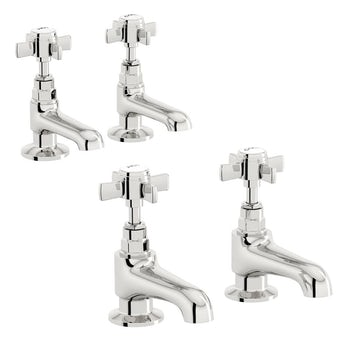 Hampshire basin and bath tap pack