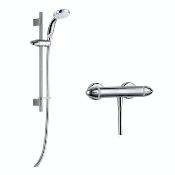 Mira Coda Pro EV thermostatic mixer shower