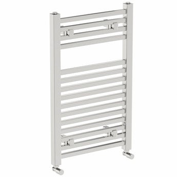 Square heated towel rail 800 x 490 offer pack