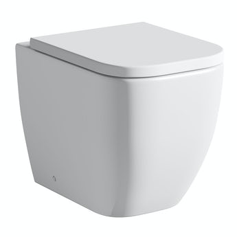 Mode Positano back to wall toilet inc soft close seat